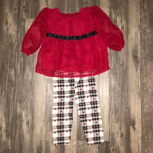 Toddler girl matching set